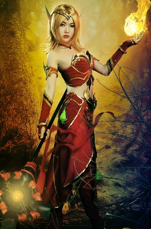 Warcraft cosplay 6