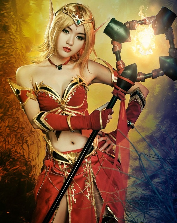 Warcraft cosplay 5
